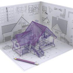 Эскизный проект здания и участка